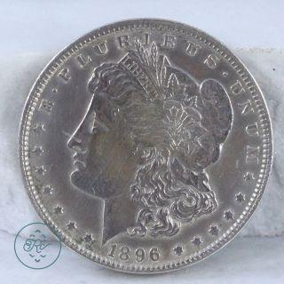 Vintage 900 Coin Silver - 1896 Us Morgan Dollar 26.  7g - Coin Dv0113 photo
