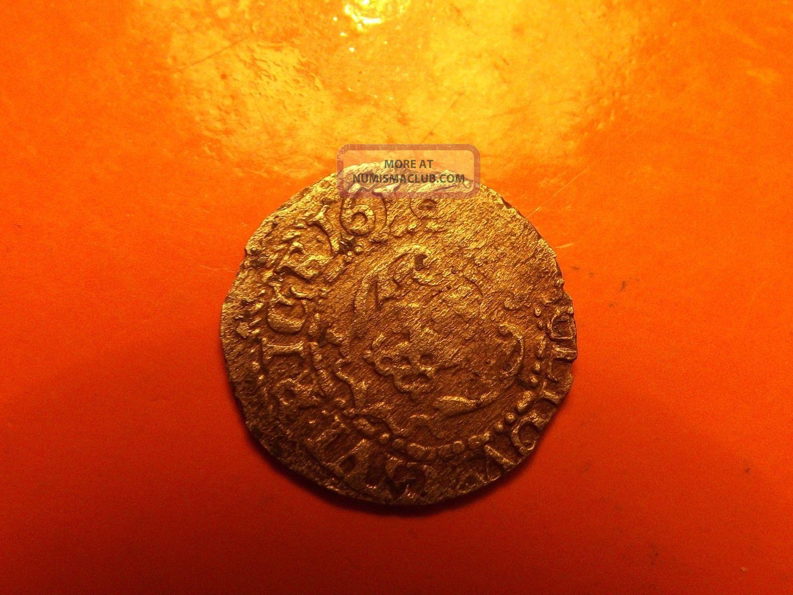 Lithuania Poland Rare 1616 Riga Solidus Sigismund Iii Silver Medieval Coin Europe photo