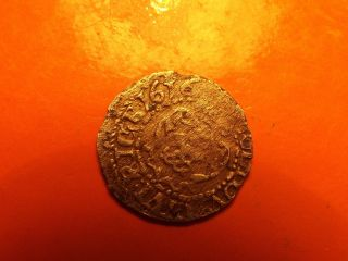 Lithuania Poland Rare 1616 Riga Solidus Sigismund Iii Silver Medieval Coin photo