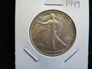 1947 50c Walking Liberty Half Dollar - Fine Circulated Coin - Store 6113 photo