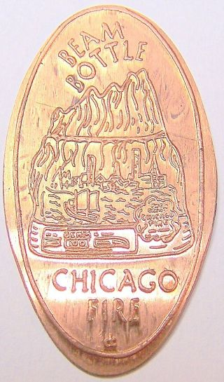 Cra - 105: Beam Bottle On Elongated Cent - Chicago Fire photo