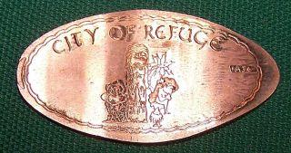 Ada - 36: Vintage Elongated Cent - City Of Refuge photo