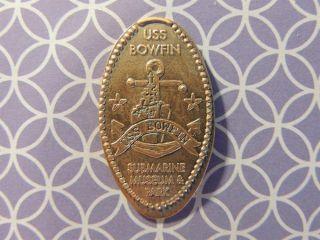 Elongated Penny - Ecm00134z - Submarine Museum & Park - Uss Bowfin photo