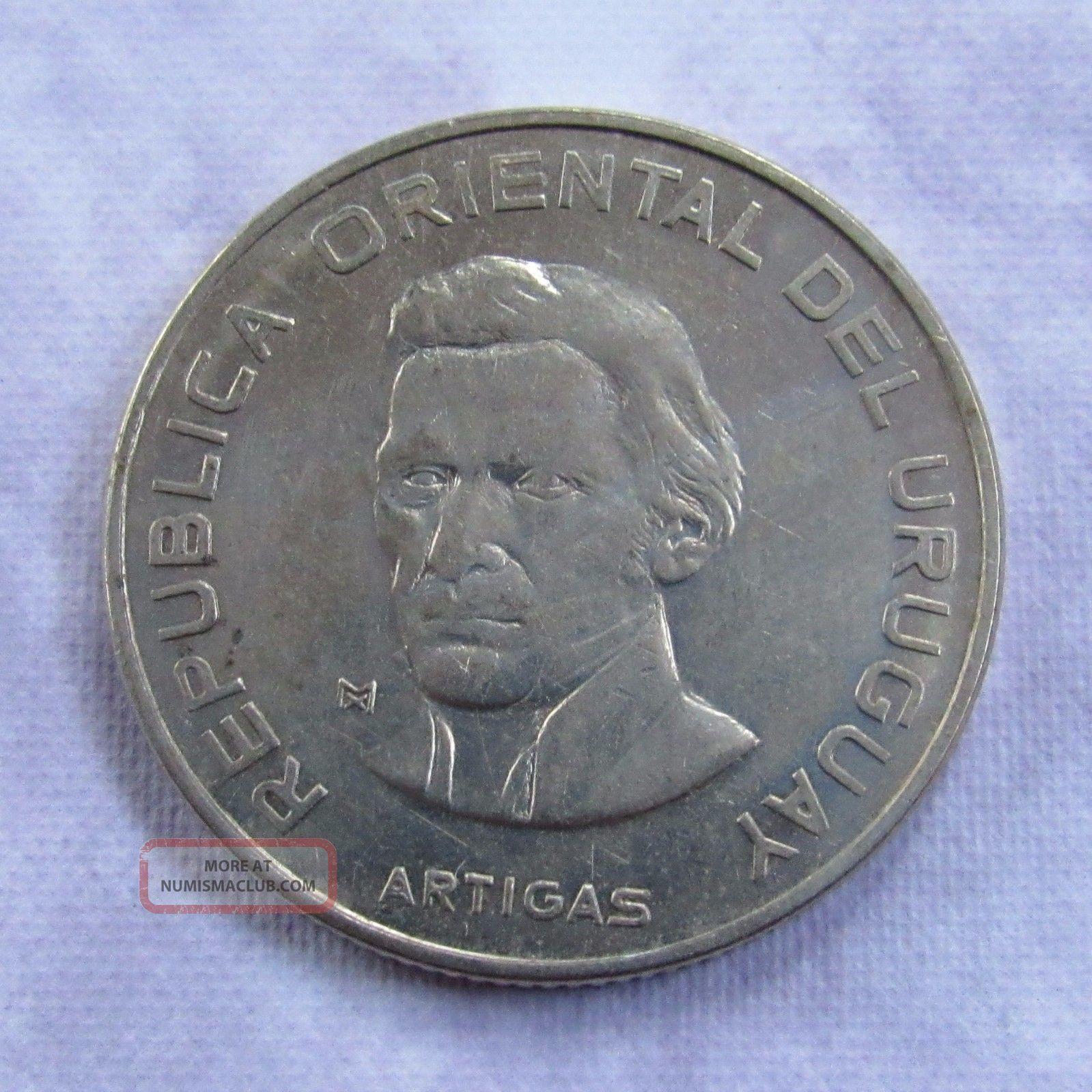 Uruguay 100 Pesos,  1973 - Domestic Uruguay photo