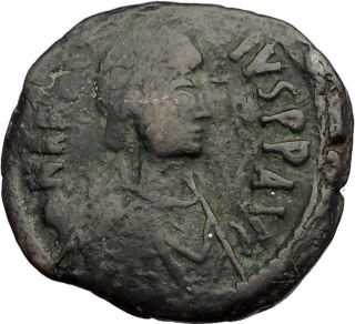 Justinian I 527ad Authentic Ancient Byzantine Coin Large M I57392 photo