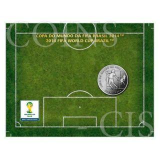 Brazil 2014 2 Reais Chest - 2014 Fifa World Cup Brazil Cuni Coin photo