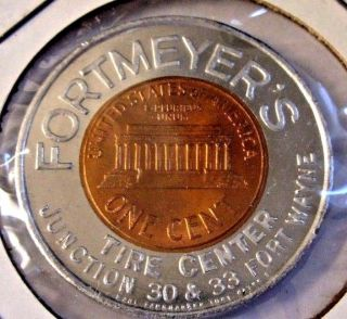 Gem Bu 1961d Lincoln Cent By Earl Fankhauser Fortmeyers Tire Center Ft Wayne In photo