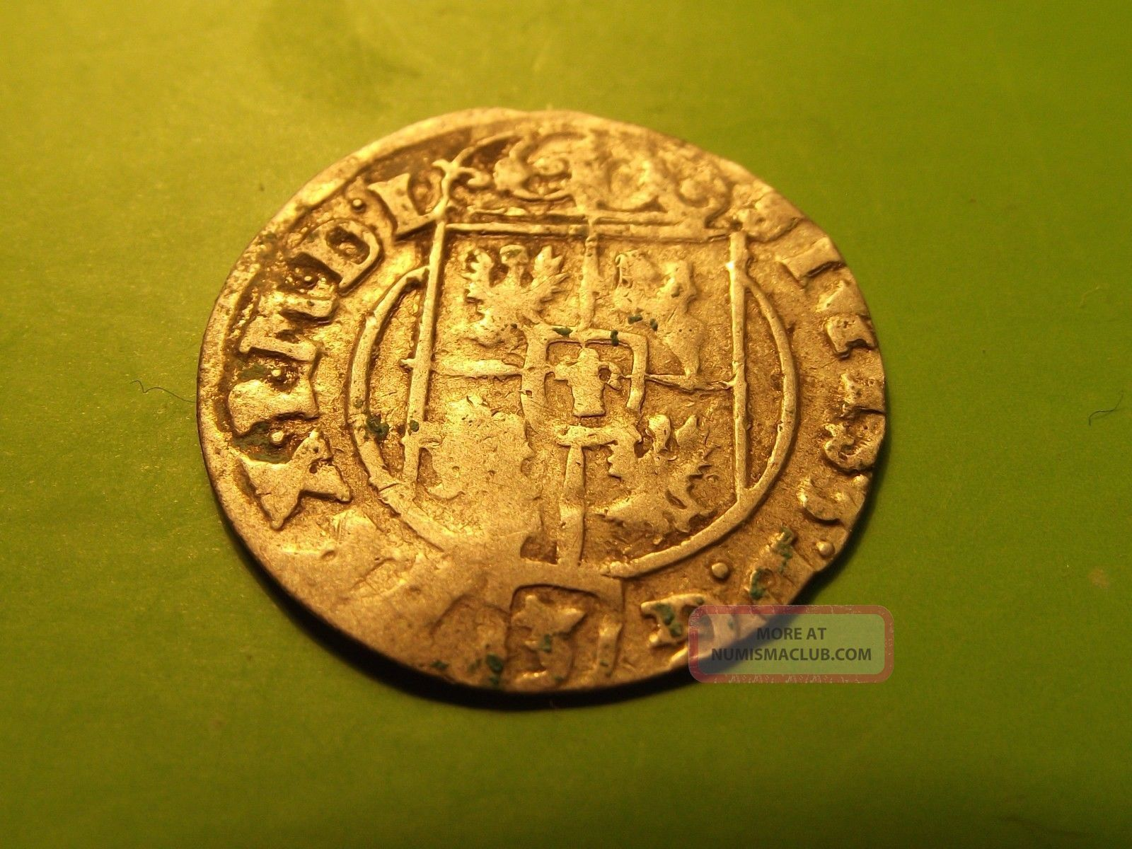 Lithuania Poland Rare 1625 Medival Silver 1/24 Thaler Sigismund Iii Coin Km 11 Europe photo