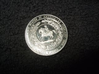 The Confederate States Of America :22 February 1862 Deo Vindice Half Dol.  Token photo