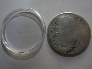 1800 Spanish Silver 8 Reales Mexico photo