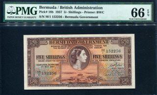$5 2009 UNC Bermuda First Prefix Onion Hybrid Polymer P-58 QEII