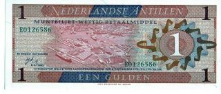 Netherlands 1970 1 Gulden Currency Unc photo