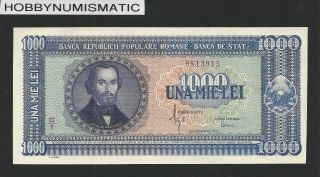 Romania 1000 Lei 20.  9.  1950 Unc photo