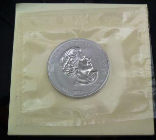 2005 1 Oz Palladium Canadian Maple Leaf Coin Bu photo