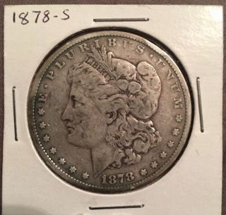 1878 - S $1 Morgan Silver Dollar photo
