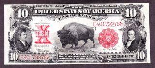 Us 1901 $10 Legal Tender