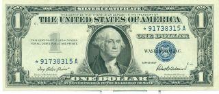 1957 Us Federal Reserve 1 Dollar