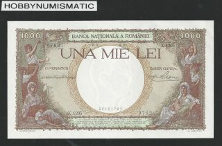 Romania 1000 Lei 28.  4.  1939 Unc Rare photo