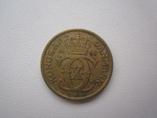 1940 Denmark 1/2 Krone photo