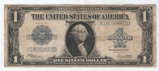 Circulated 1923 Silver Certificate - - Ungraded $1 Large Size Note 191,  Fr.  237 photo