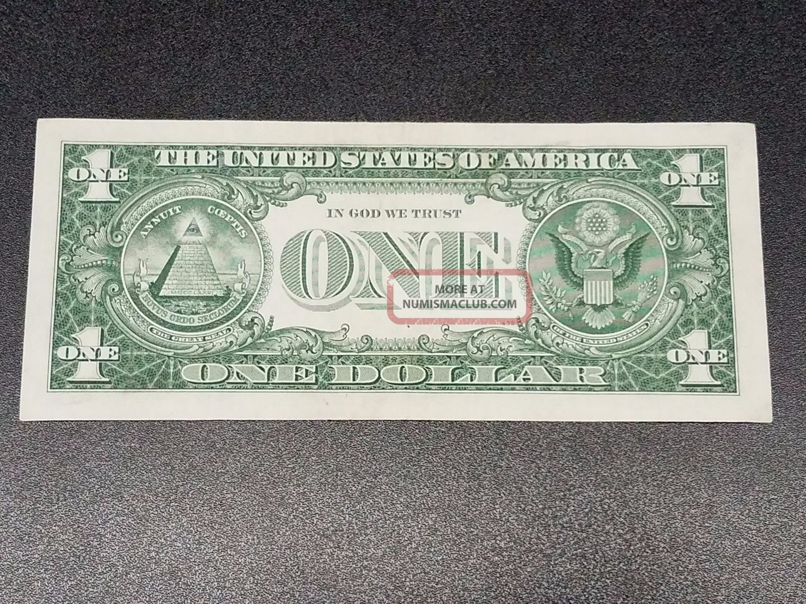 1957b 1 Dollar Crisp Blue Seal Us Silver Certificate Paper Money