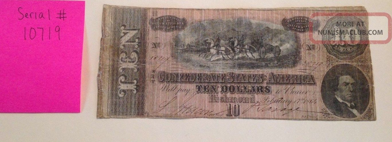 Confederate Currency Paper Money: US photo