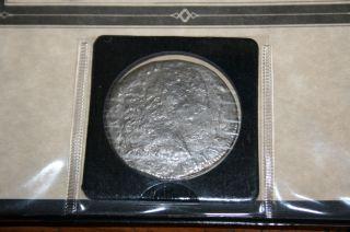 El Cazador Shipwreck 8 Reales Silver Spanish Coin 1783 photo