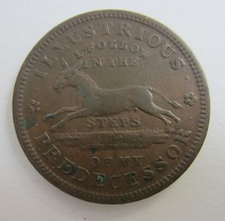 1837 Hard Times Token Illustrious Predecessor photo