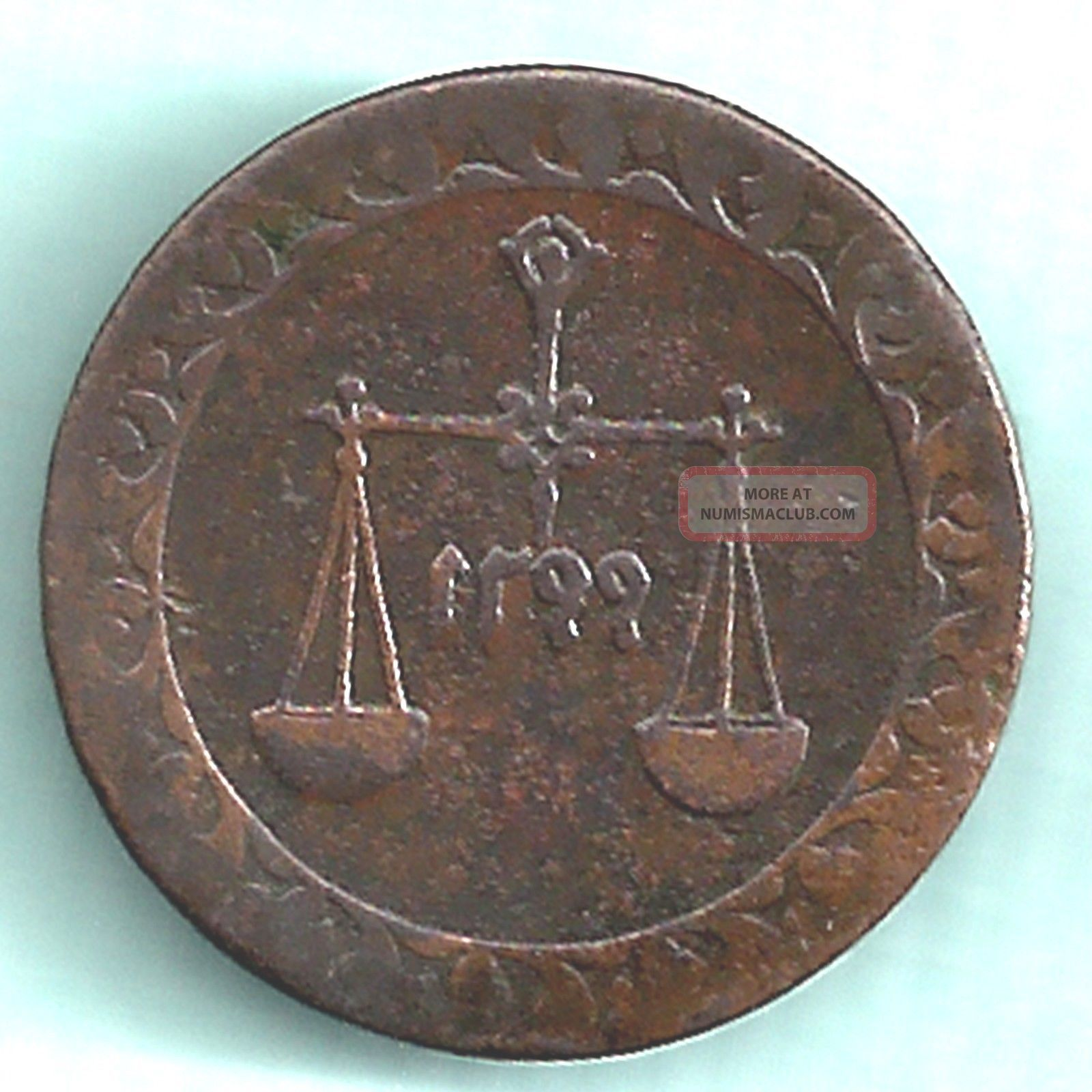 Zanzibar Island - Ah 1299 - Sultan Bargash Ibn Sa ' Id - 1/4 Anna - Rarest Coin Middle East photo