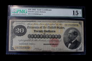 Paper Money: US - Large Size Notes - Gold Certificates