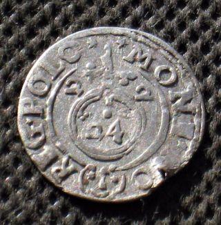 Old Silver Poltorak Coin Of Polish - Lithuanian Commonwealth Zygmund Iii Waza (b) photo