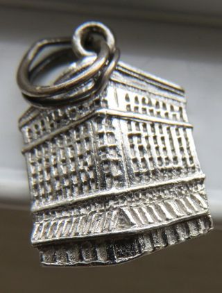 Birks Sterling - Vancouver Bc Bracelet Charm Vintage Canadiana Building photo