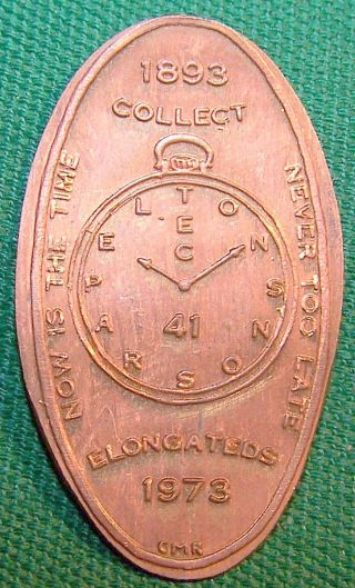 Rog - 46: Elongated Cent Now Is The Time To Collect Elongateds / Never Too Late photo