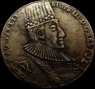 Sigismund Iii Vasa 1587 Thaler Poland Coin photo