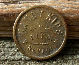 1900s Elko Nv.  Nevada Rare R8