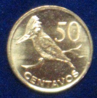 Mozambique Africa [2006] 50 Centavos C - Unc Bird photo