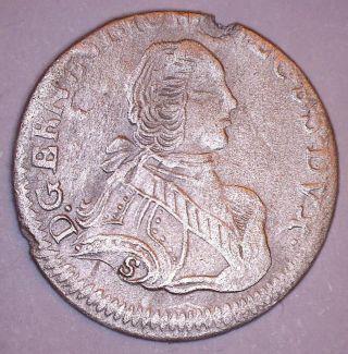 Courland 3 Groszy 1764 Ics Silver Ernst Johann Biron photo