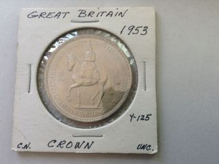 1953 Great Britain Crown photo
