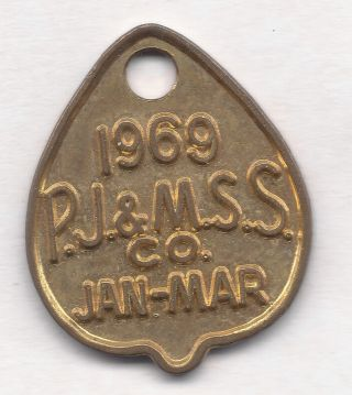 Manly Australia Ferry Boat Transportation Token Aus - 480 - Qq 40 photo