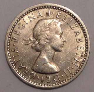 1955 - Six Pence / Uk photo