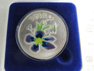 Israel 1989 Happiness /happy Children/ Chaim Gross State Art Medal 26g Silver 2 photo