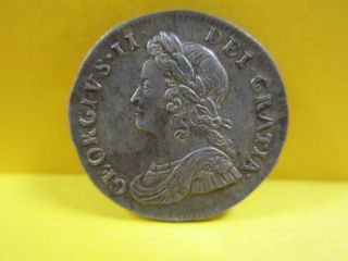 Great Britain 1739 Silver 3 Pence - George 2nd - - photo