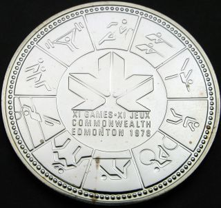 Canada 1 Dollar 1978 Prooflike - Silver - Commonwealth Games - 1817 猫 photo