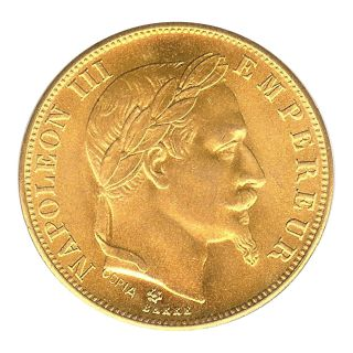 France Game Token - Napoleon Iii - 50 Franc 1859 Ch.  Au - Not Gold photo