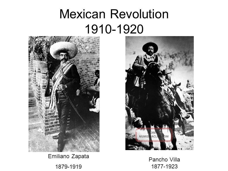 an analysis of the mexican revolution in the 19th and 20th centuries Within the years preceding the revolution, many events shaped the future of the russian government, including the first russian revolution in 1905 the russian revolution was caused by the continual breakdown of the governments in russia and the incompetency and authoritarian views of it's czars.