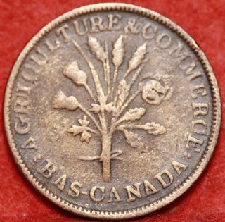 Montreal Canada 1/2 Penny Token photo