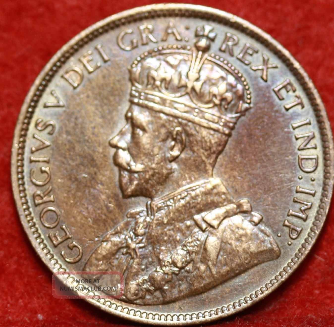 1918 Canada One Cent Foreign Coin S/h Coins: Canada photo