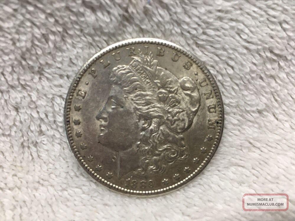 1889 - S Morgan Silver Dollar,  Very Detailed,  Rare Date Dollars photo