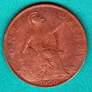 Great Britain 1920 Penny photo