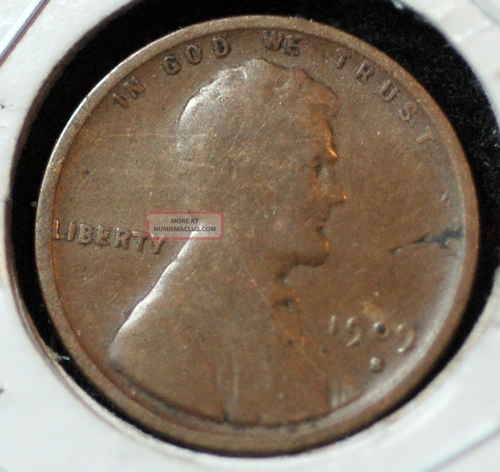 1909 - S Lincoln Wheat Cent In. Small Cents photo